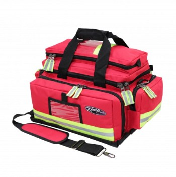KEMP USA RED LARGE PROFESSIONAL TRAUMA BAG