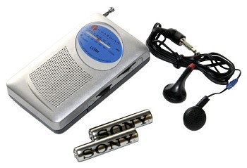 Am/Fm Radio w/ Headphones