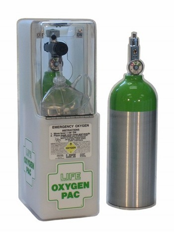 LIFE OxygenPac Oxygen Tank | LIFE-612 made by LIFE Corporation | CPR Savers  and First Aid Supply