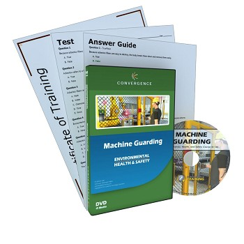 Convergence Training DVD: Machine Guarding