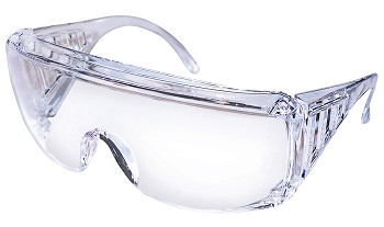 Yukon Clear Uncoated Safety Glasses