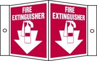 Fire Extinguisher Sign (3D)