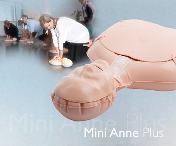 Mini Anne Plus (bag with 10 Manikins)