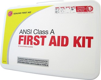 Class A 25 Person 2015 ANSI First Aid Kit Metal