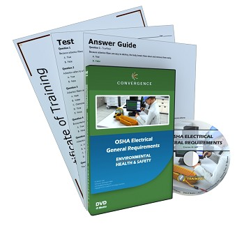 Convergence Training DVD: OSHA Electrical General Requirements