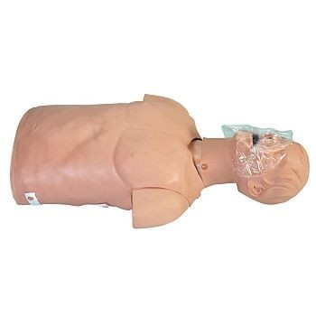 BLS Trainer Torso with Carry Bag