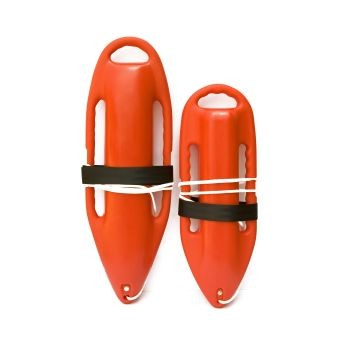 "KEMP USA ORANGE 28"" RESCUE CAN"