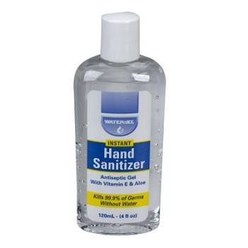 Instant Hand Sanitizer - 4 oz Plastic Bottle (62% Ethyl)