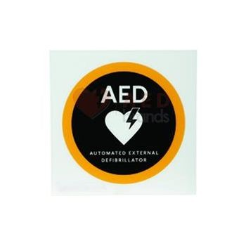"AED Location Sign - flat, 10"" x 10"", without Logo"