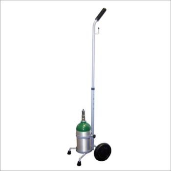 D/E MRI Single Cylinder Cart with Rigid Handle
