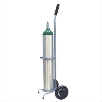 M6 Single Cylinder Cart with Adjustable Handle