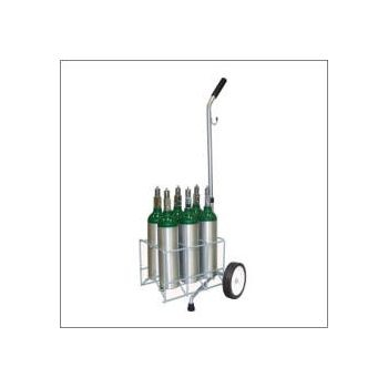 M6 6 Cylinder Cart with Adjustable Handle