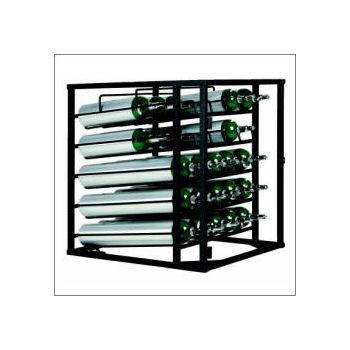 D/E Layered 25 Cylinder Rack