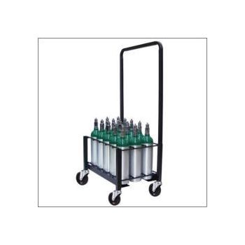M6 Heavy Duty 15 or 30 Cylinder Cart