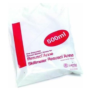 Disposable Airways 400-600 ml for Resusci Anne / 24 Pack