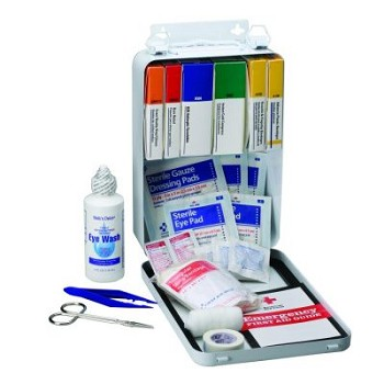 Vehicle first aid Kit - 93-Piece Bulk (Metal Case)