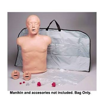 Paul CPR Manikin (Black) with Carrying Bag