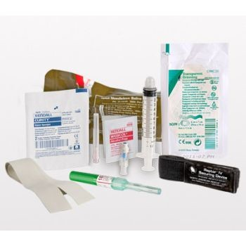NAR Needleless Saline Lock Kit