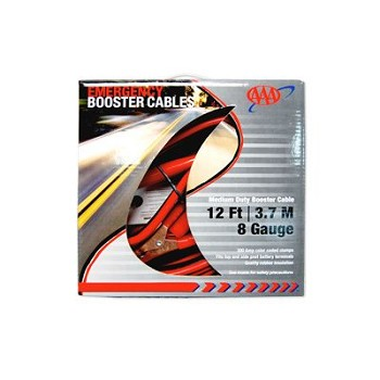 AAA Medium Duty Booster Cables (12?/8G)