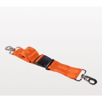 NAR Casualty Restraint Strap 2PC Plastic Buckle/Speed Clip - Orange