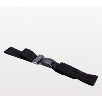 NAR Casualty Restraint Strap 2PC Metal Buckle - Black