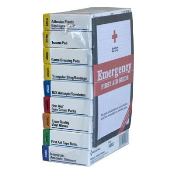 60-Piece Refill for 10-Unit Unitized First Aid Kits (238-AN, 240-AN)