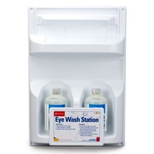 Double Eyewash Station (2 16 oz Bottles, Screw Top)