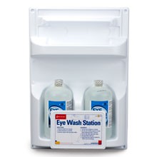 Double Eyewash Station (2 32 oz Bottles, Screw Top)