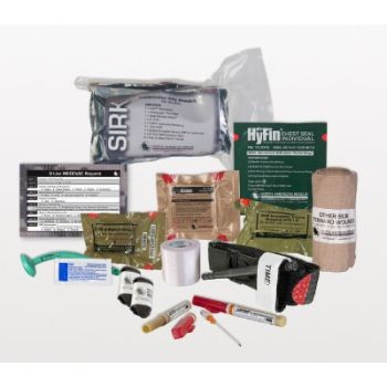 Supplemental IFAK ReSupply Kit with ChitoGauze PRO | 80-0225 made by North  American Rescue | CPR Savers and First Aid Supply