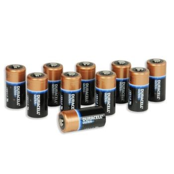 Type 123 Lithium Batteries (10 set)