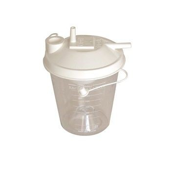 800ml Disposable Collection Canister for Compact Suction Unit 3 / 48 Pack