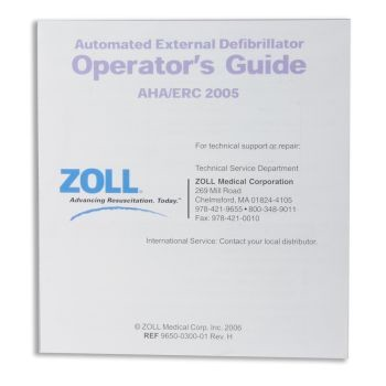 Operator's Guide for Individual Operators or Use as Wall Poster