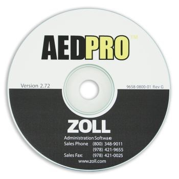 ZOLL Administrative Software for AED Pro (CD-ROM)