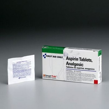 PhysiciansCare Aspirin, 6x2/box