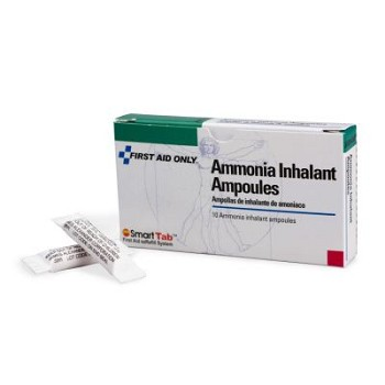Ammonia Inhalant Ampoules - 10 per Single Unit Box