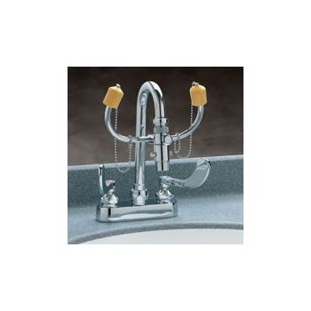 Bradley Faucet Mounted Eye Wash Fixture