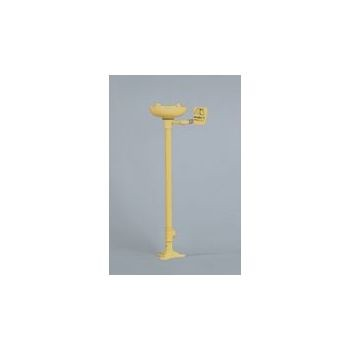Bradley Pedestal Mounted Eye/Face Wash Fixture With Plastic Bowl