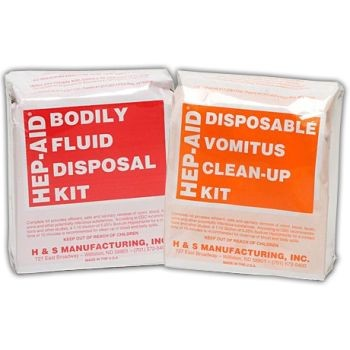 HIV Disposal Kit - 1 Person - 12 per