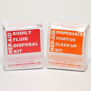 Vomit & Urine Clean Up Kit - 12 per