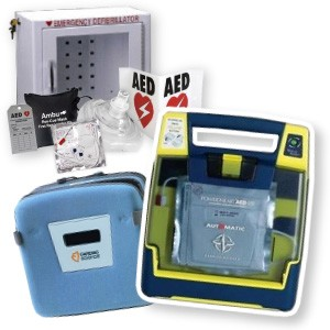Cardiac Science Powerheart AED Package