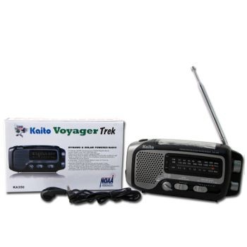 "The Voyager ""Trek"" Solar AM-FM Weather Band"