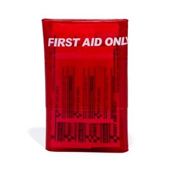 Mini First Aid Kit (Tri-Fold Vinyl Case)