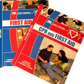 First Aid and CPR Book - 60 pages