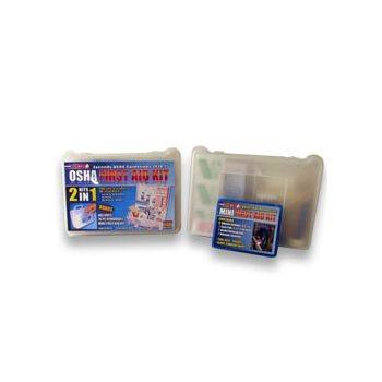 137 Piece First 2 n 1 First Aid Kit