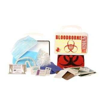 Bloodborne Pathogen Economy - 10-Piece Kit (Poly White)