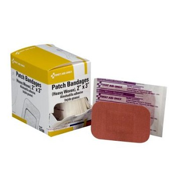 "Heavy Woven Patch Bandage (2"" x 3"") - 25 per Dispenser Box"
