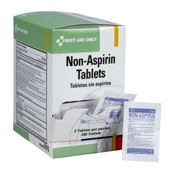 Non-Aspirin - 250 Tablets per Dispenser Box