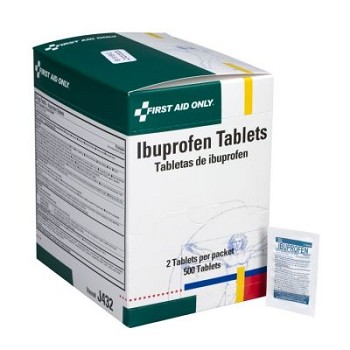 Ibuprofen - 500 Tablets per Dispenser Box