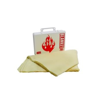 "Fire Blanket - Kit - 60"" x 84"" (Poly White)"