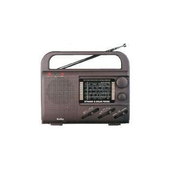 Solar Power Radio with AM/FM/SW1-4/TV/Weather/AIR Band